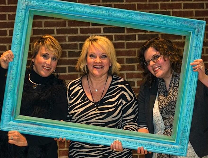 Left to right. Co-artistic director Pamela Reckamp, founder and co-artistic Director Kim Furlow and managing director Sara Hughes
