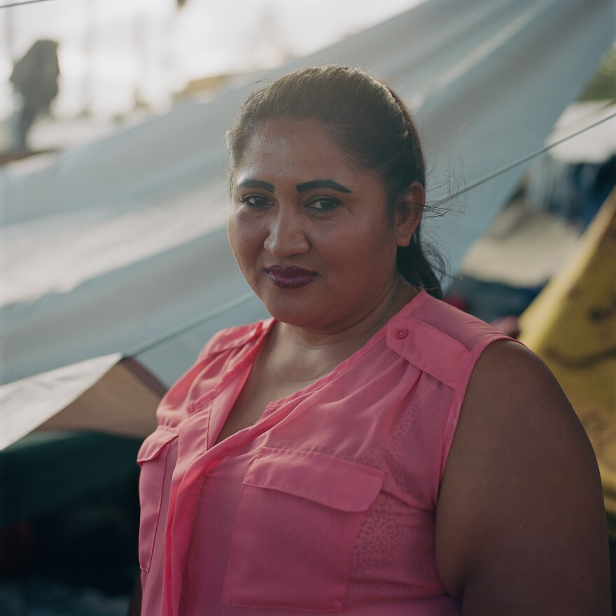 """He would always mess my life up, making demands and threatening me if I would not give back the photos I would take of myself all bruised up after his beatings,"" Arita said. ""I did this thinking if and when I would ask for asylum in the U.S., I will show them the photos.""<em> </em>"