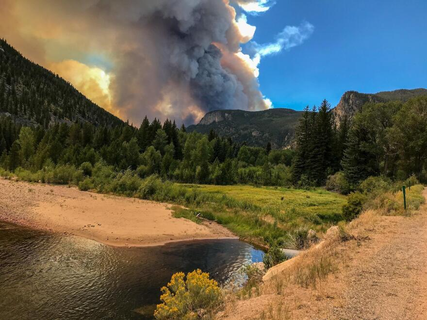Between the High Park and Cameron Peak Fires, a broad reach of the Poudre River's watershed has burned within the last decade.