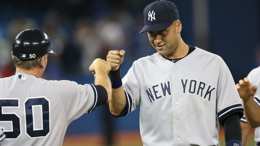 Derek Jeter says the upcoming baseball season will be his last. Jeter has played his entire career with the New York Yankees.