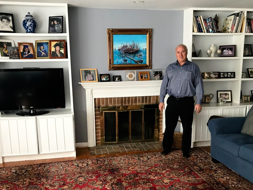 Phil Sturm, a Realtor who lives in Chevy Chase, Md., will host around 20 students from North Carolina this weekend.