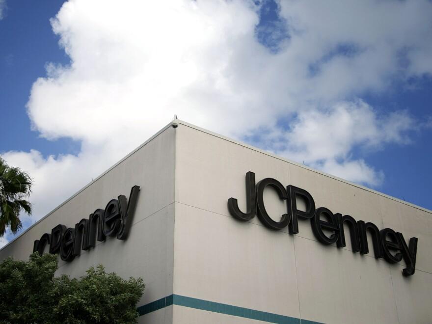 A J.C. Penney store in a Pembroke Pines, Fla.