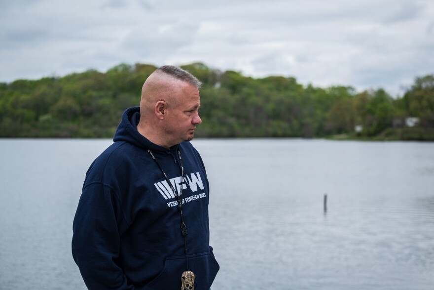 Lynn Rolf III said rumors that a PTSD diagnosis could endanger his security clearance were one reason he delayed seeking mental health treatment.