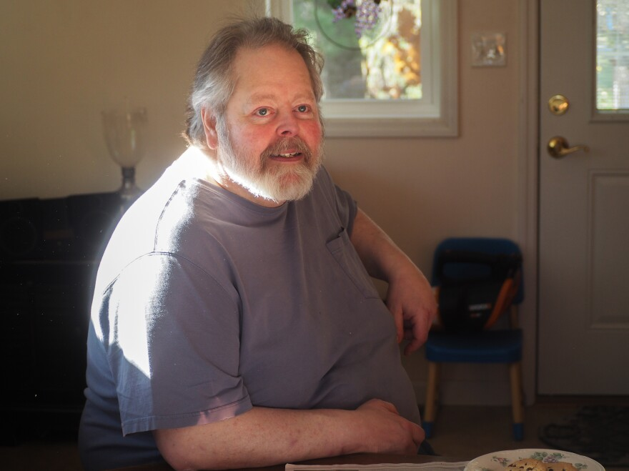 David Pierce of Apalachin, N.Y., went on disability a year ago, joining the large army of men who have left the workforce for good.