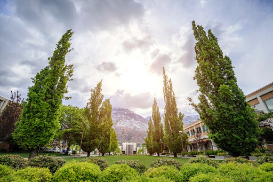 Photo of BYU Campus.