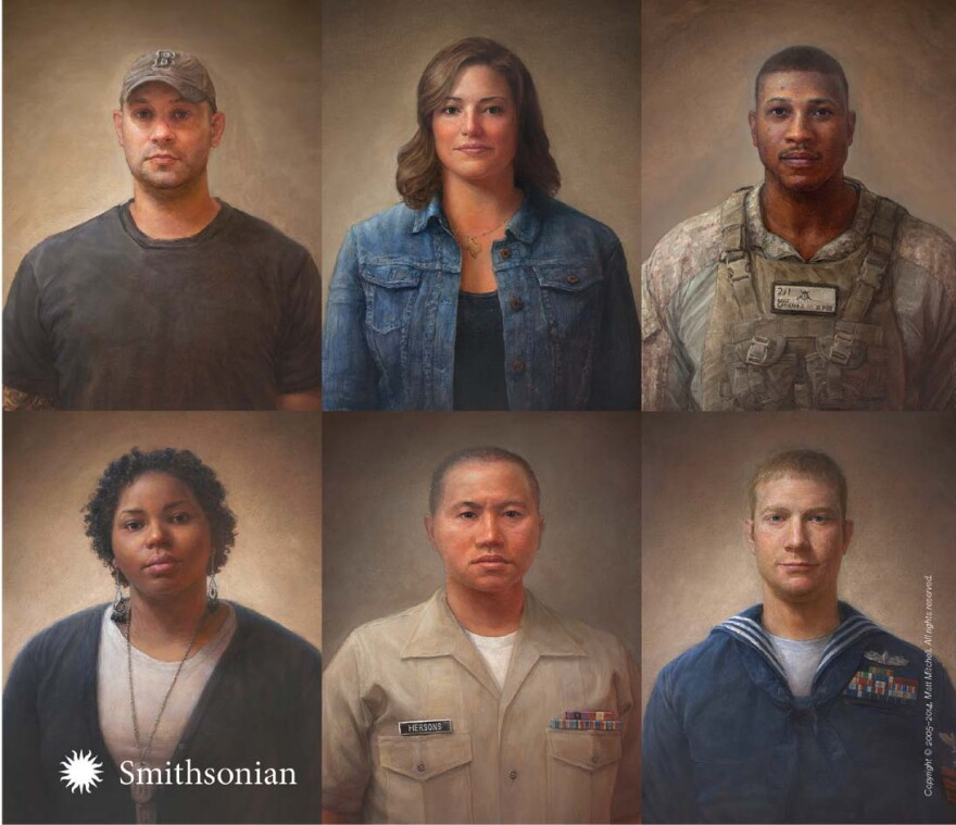 portraits of americans who went to war