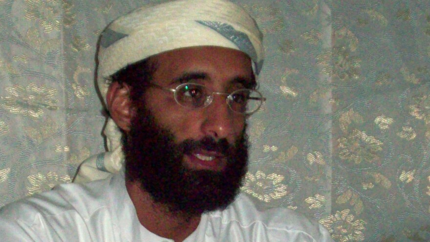 Journalist Scott Shane says that the videos and DVDs of the late imam Anwar al-Awlaki (above) continue to inspire terrorist acts.