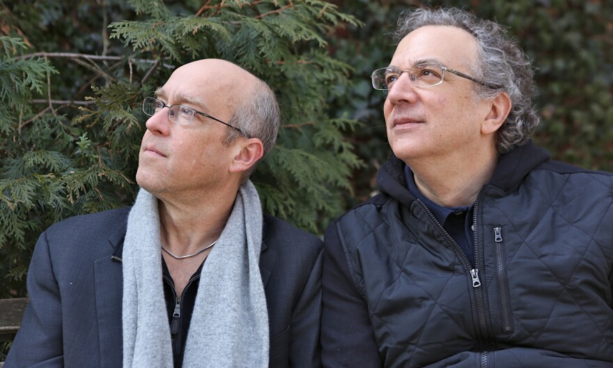 Dave Douglas (left) and Uri Caine.