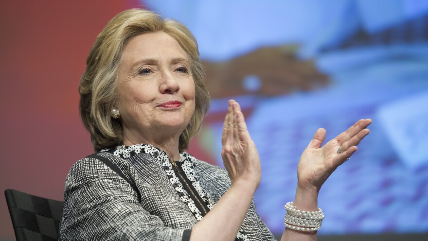 Publisher Simon & Schuster says the initial printing of Hillary Clinton's soon-to-be-released memoir, <em>Hard Choices</em>, has already sold out.