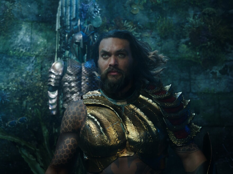 Jason Momoa stars in <em>Aquaman</em>.