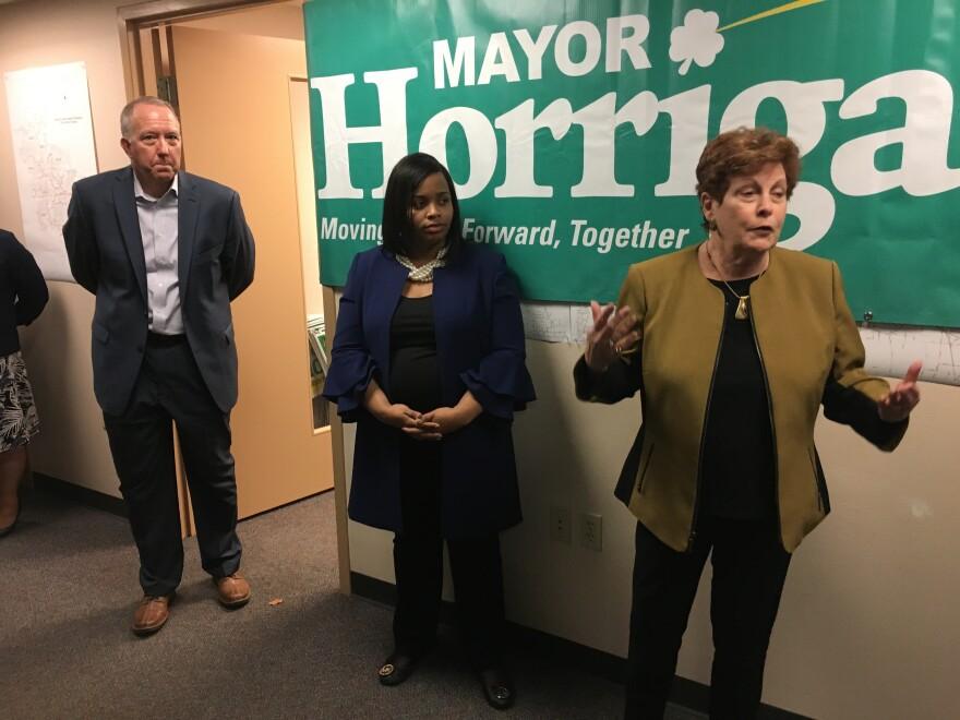 a photo of Dan Horrigan, Margo Sommerville, and Ilene Shapiro