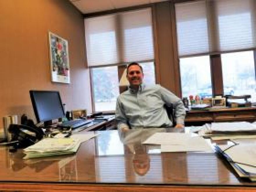 Mike Shane is vice president of agriculture banking at F&M Bank in Galesburg, Illinois. He says farmers understand why the Trump Administration is standing up to China, but also hopes that the countries can come to a trade agreement soon.
