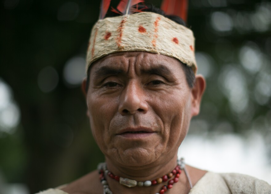 Sergio Pacheco learned the healing songs from his father at age 6 and went on to conduct his first healing ceremony at age 8.
