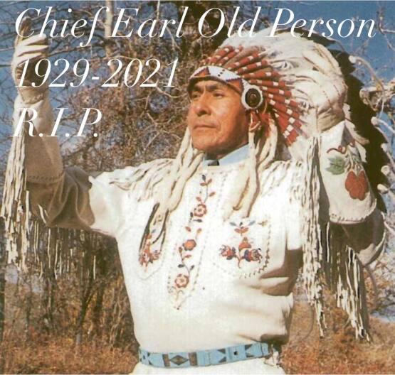 Blackfeet Tribal Chief Earl Old Person dies at 92