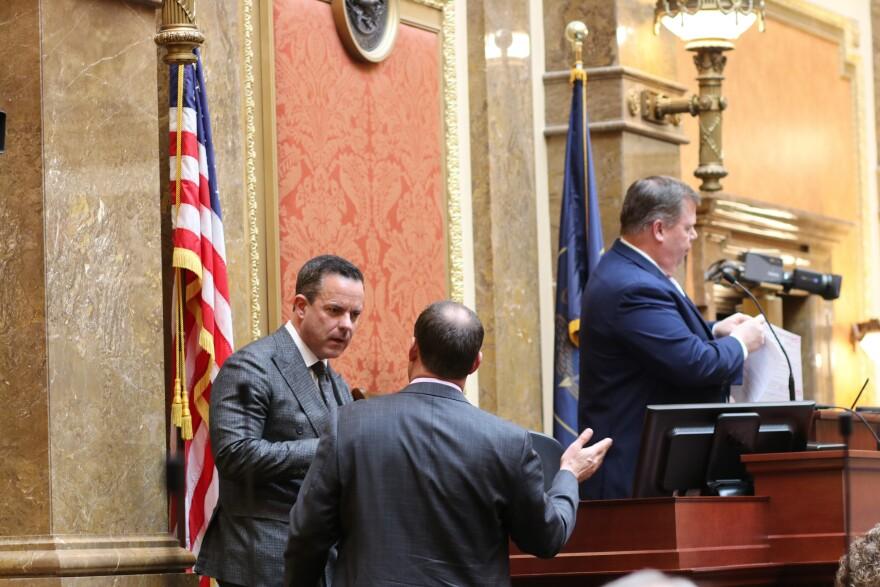 House Speaker Brad Wilson.