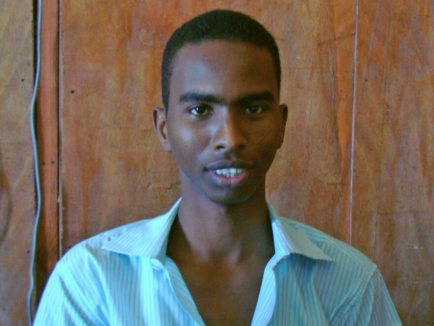 Somali journalist Yusuf Ahmed Abukar used the radio to tell stories of the poor and suffering in Somalia — and to criticize militant groups and the government.