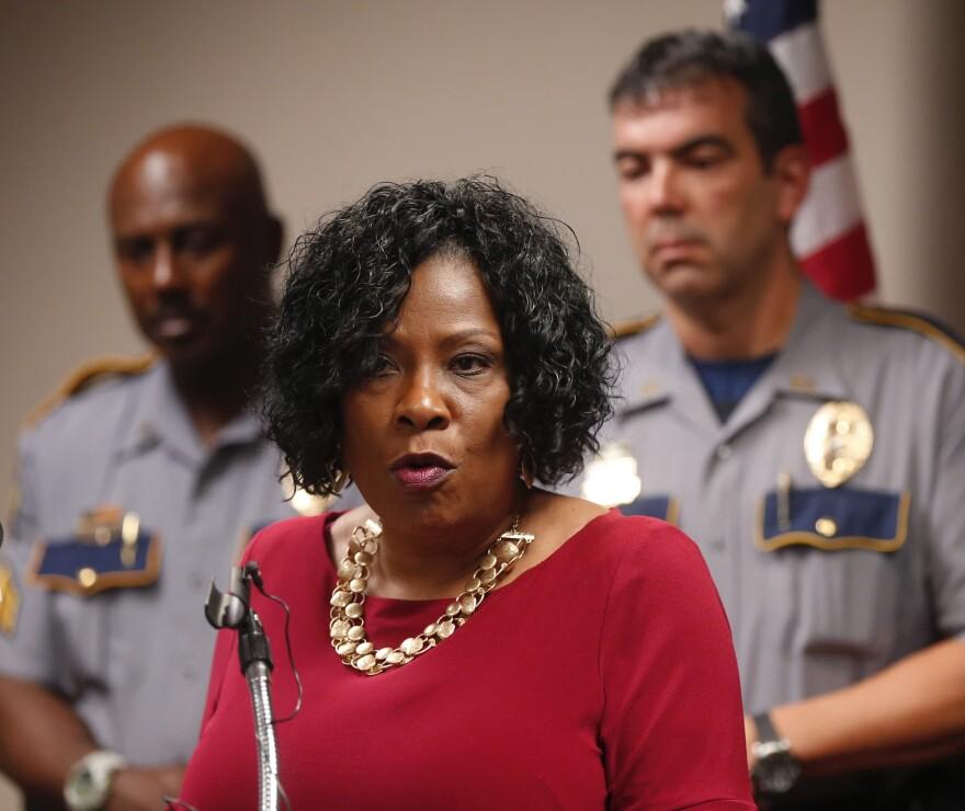 Baton Rouge Mayor Sharon Weston Broome.(Gerald Herbert/AP)