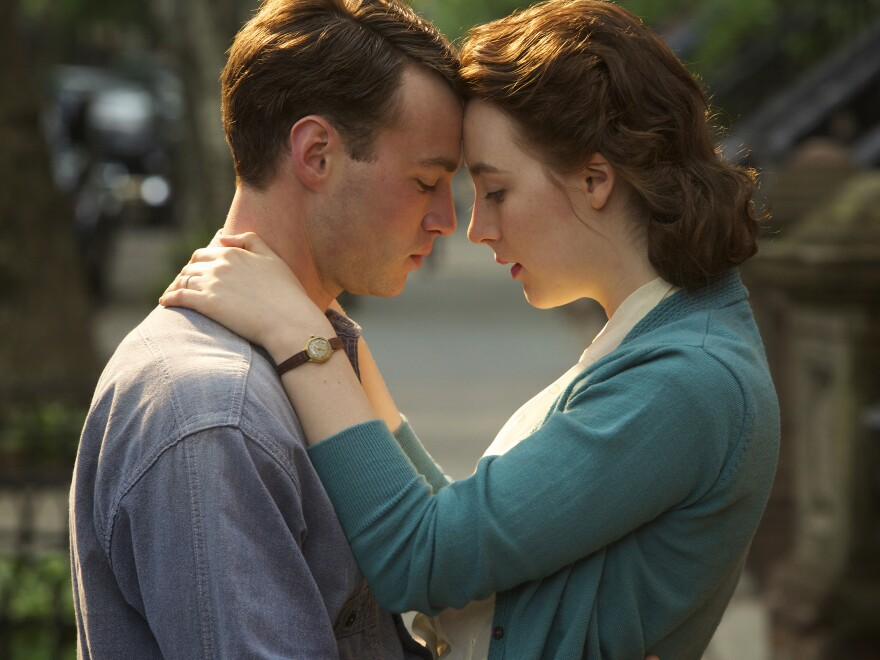 In <em>Brooklyn</em>, a young woman (Saoirse Ronan) finds herself torn between two countries and two men, played by Emory Cohen (pictured) and Domhnall Gleeson.
