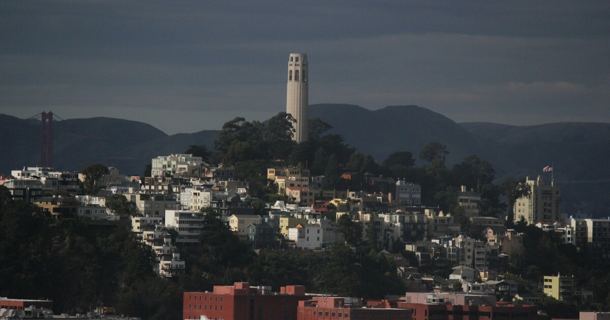 San Francisco Tourist Attraction Coit Tower Reopens