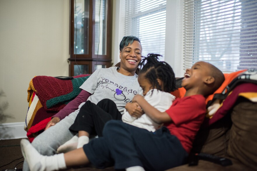 Several months after she lost her first set of twins, Samantha Pierce got pregnant with Camryn and Caedyn, now 7 years old. For that pregnancy, she was put on bed rest.