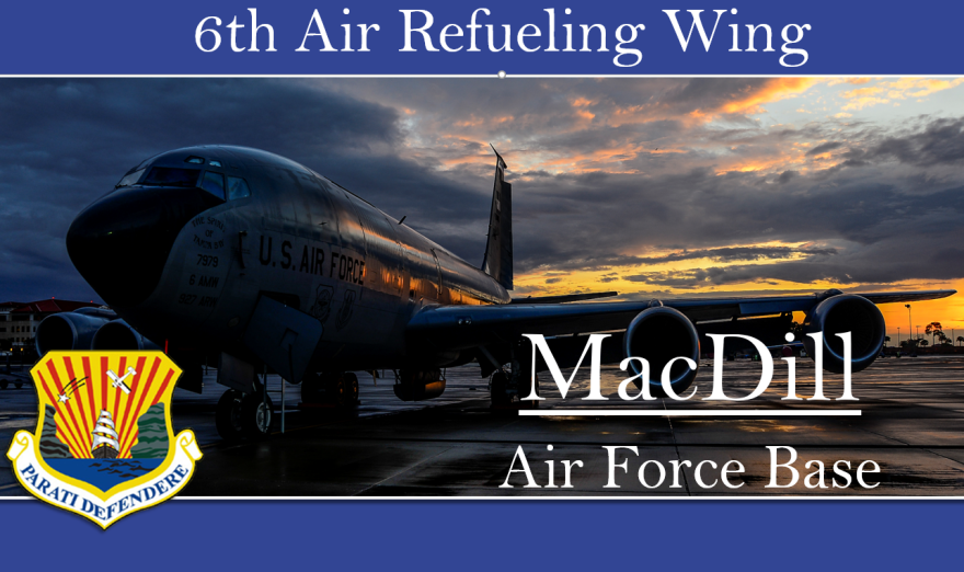 The 6th Air Mobility Wing is now the 6th Air Refueling Wing, which reflects a shift in the unit's duties.