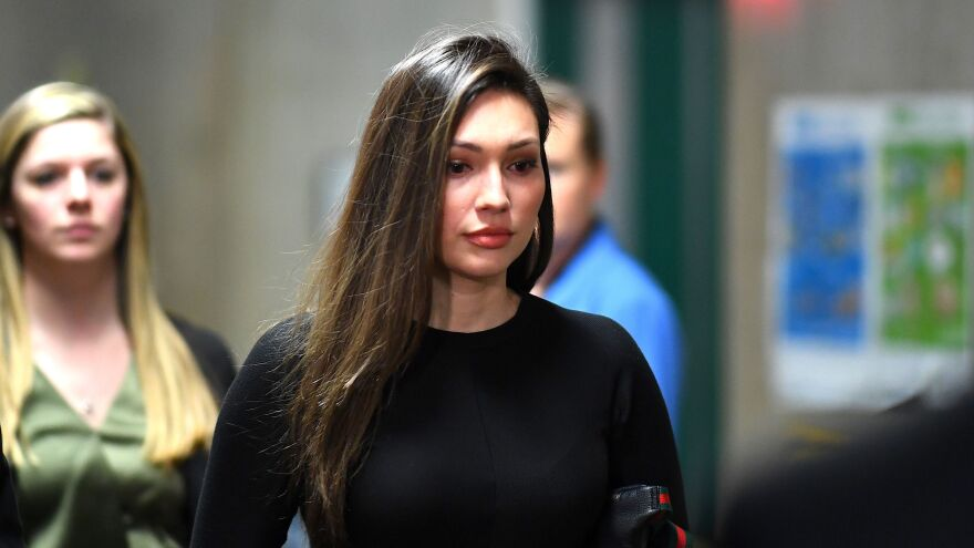 Jessica Mann arrives at the Manhattan Criminal Court late last month. The testimony offered by the former actress contained some of the most explosive accusations against Weinstein, who faces the prospect of life in prison if convicted on all counts.
