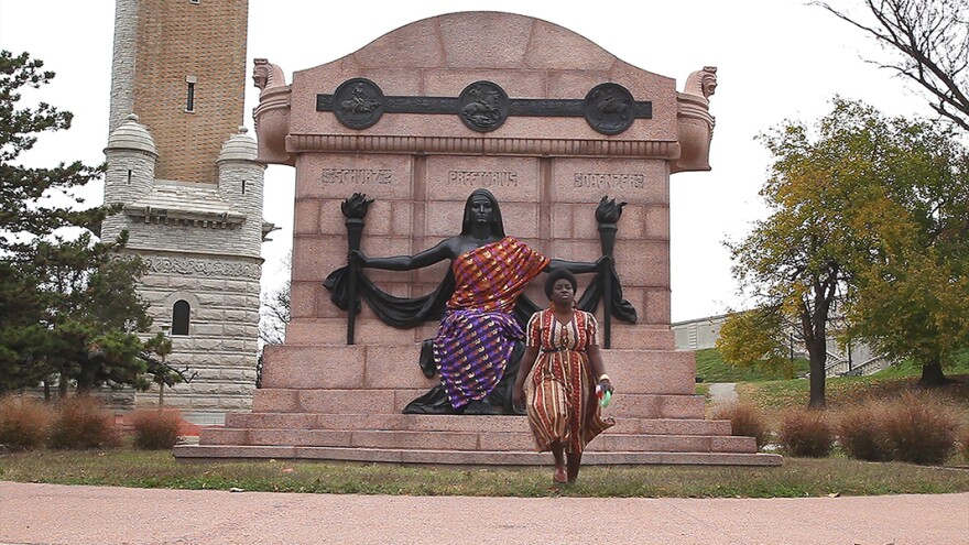 A South City Statue Tells the Story of the German Utopians
