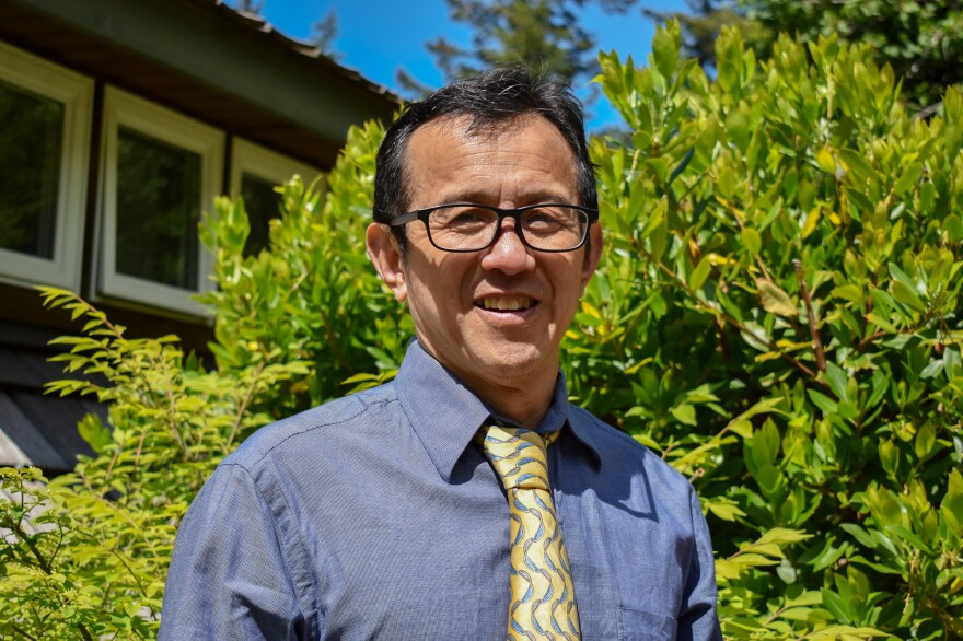 Dr. Ming Lin was fired from his position as an emergency room physician at PeaceHealth St. Joseph Medical Center in Bellingham, Washington after publicly complaining about the hospital's infection control procedures during the pandmic.