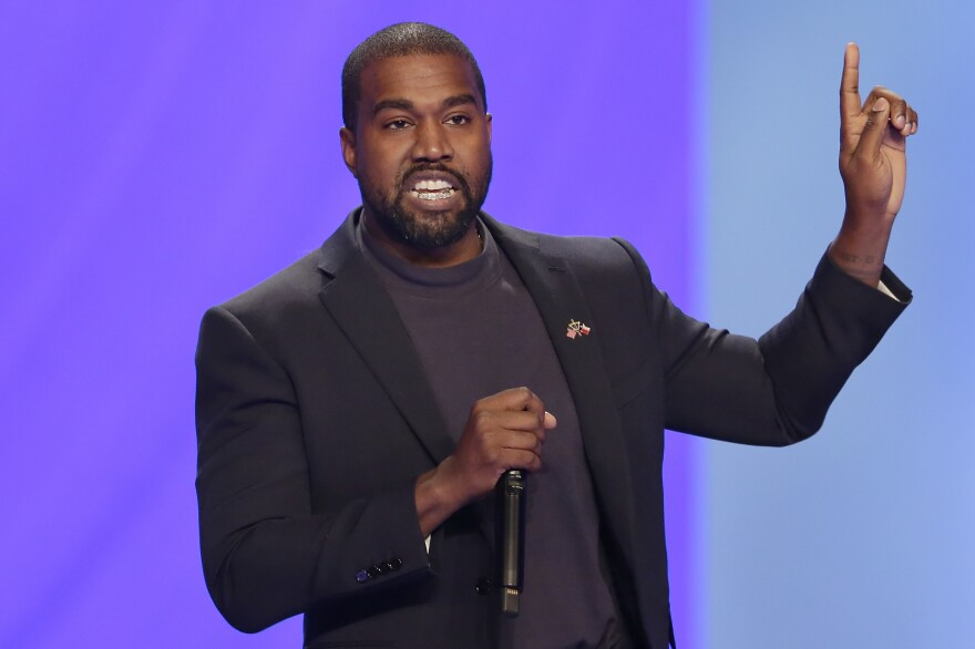 Kanye West is working to get his name on the ballot in several states for the November presidential election.
