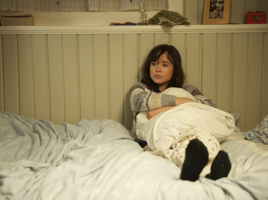 Ellen Page plays niece to DeWitt's Abby, whose bewildered boyfriend (Scoot McNairy) turns an eye her way in the wake of Abby's affliction.