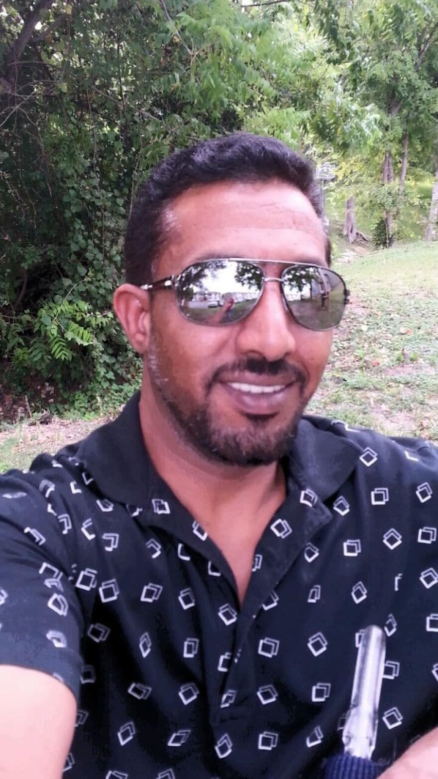 Bassam Al Abbas, a refugee who left Syria along with his family and eventually settled in Austin, Texas. (Courtesy Bassam Al Abbas)