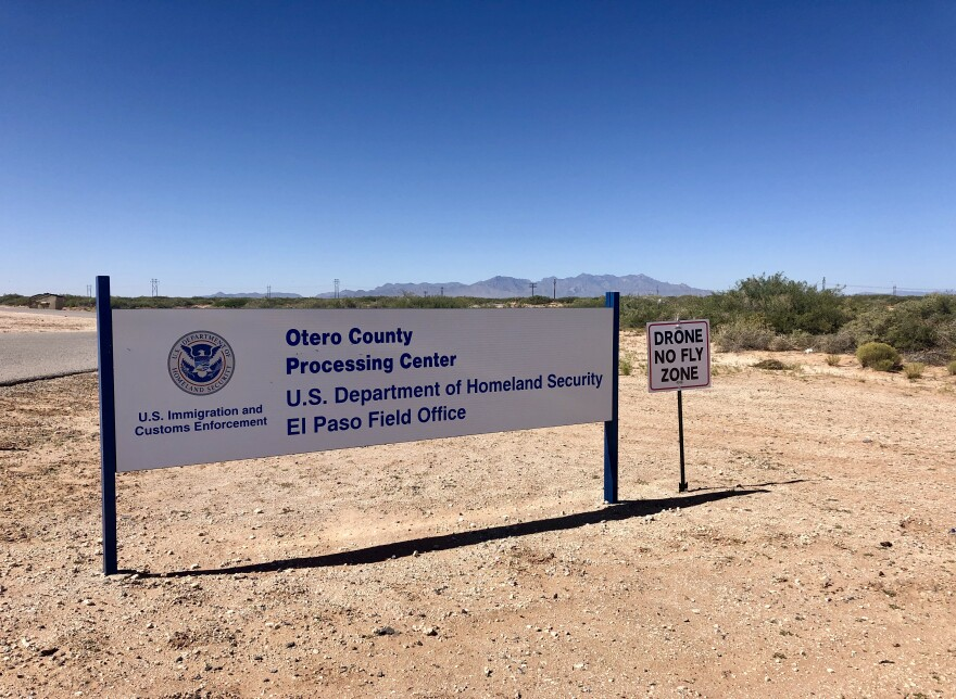 The Otero County Processing Center is one of five immigration detention facilities in the El Paso sector, which spans West Texas and New Mexico.