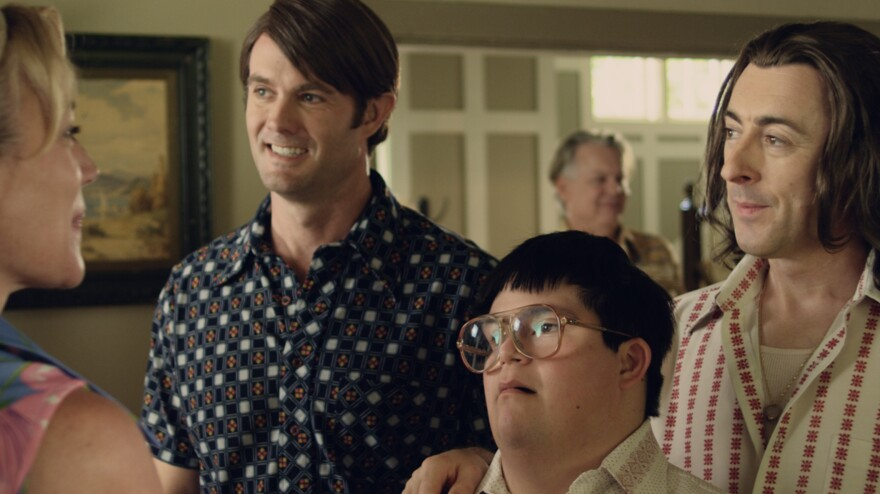 When a boy with Down syndrome (Isaac Leyva) is abandoned by his mother, a neighbor couple (Garret Dillahunt and Alan Cumming) takes him in.