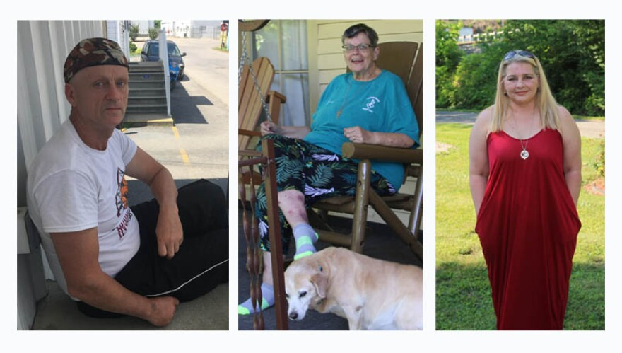Kermit residents Michael Duty, Sister Therese Carew and Etta Lea Blankenship-Kiser share their stories about the long road to recovery for individuals and the small West Virginia town they love.