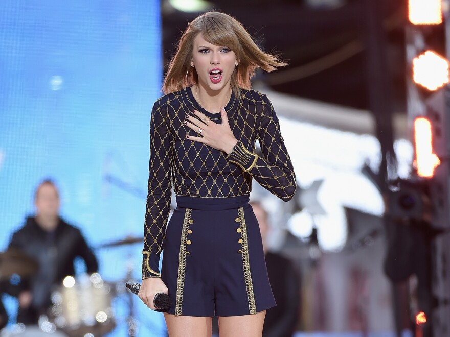 <strong>Some things actually are surprising: </strong>Taylor Swift, performing on ABC's <em>Good Morning America</em> in New York City on Oct. 30, sold over a million copies of her new album, <em>1989, </em>in its first week.