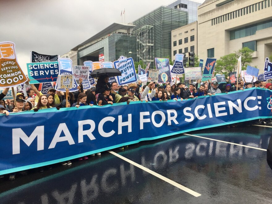 The March for Science, April 22, 2017 in Washington, DC