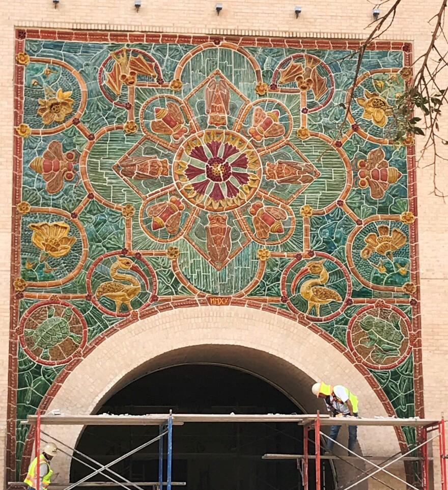 Diana Kersey's mural in San Antonio.