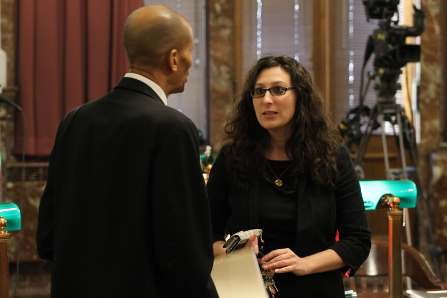 Alderman Megan Green, D-15th Ward, contended that there were better ways for the city to spend tax dollars than a new stadium.