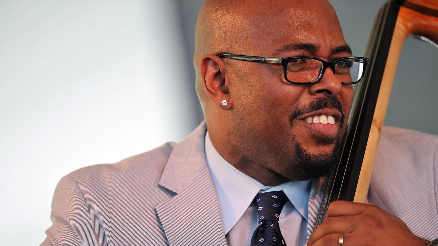 Christian McBride performs at the Newport Jazz Festival in Newport, R.I. earlier in 2015.