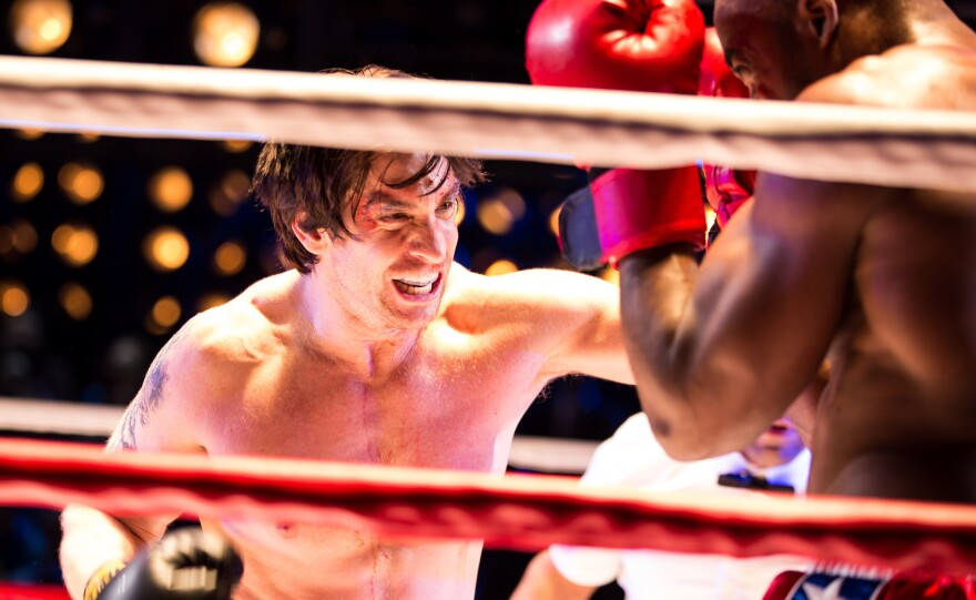 """Andy Karl stars in the musical adaptation of<em> Rocky, </em>the story of an underdog boxer who gets a shot at the world championship. """"You have to honor, I think, the integrity of what the original film is, but not be constrained by it,"""" says <em>Rocky</em> producer Bill Taylor."""