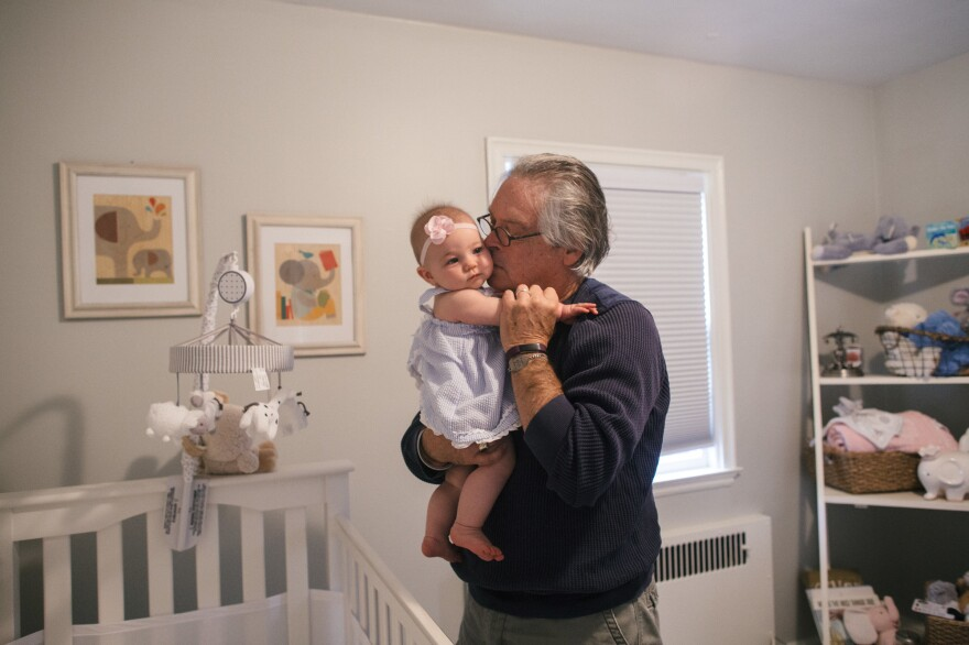 Greg worries that, with his mental state already in decline, his granddaughter won't ever get to know the real him. So, he started writing to her in text messages, emails and essays.