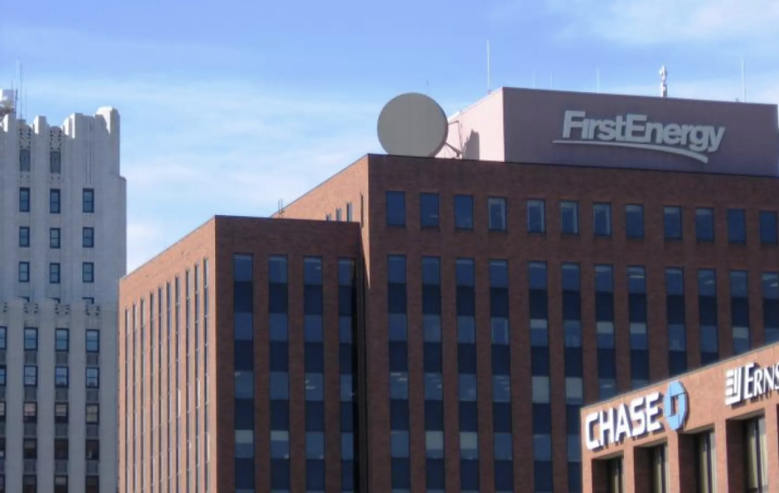 FirstEnergy building in Akron