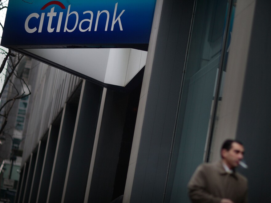 A Citibank branch in Manhattan.