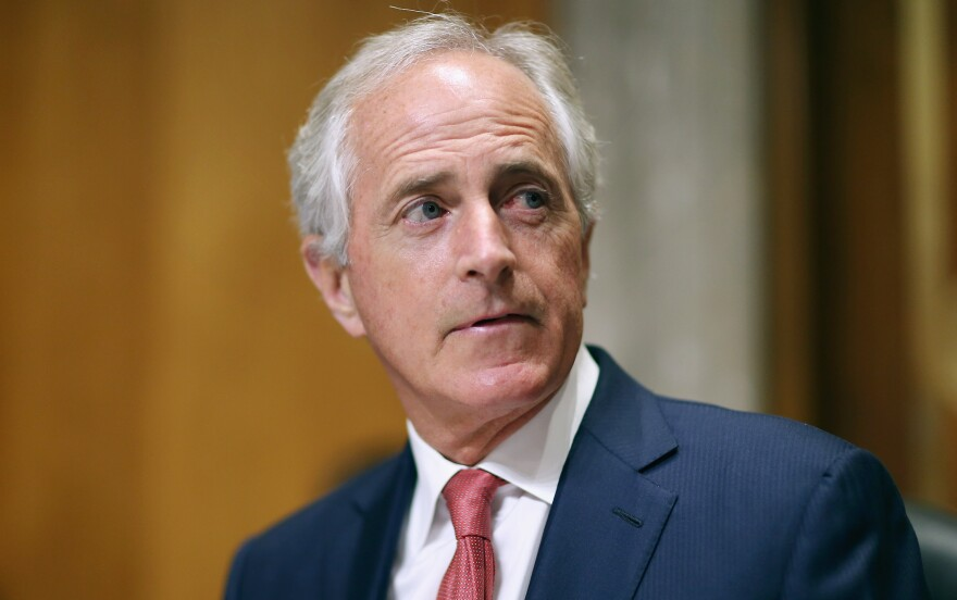 Sen. Bob Corker, R-Tenn., has announced his retirement and now seems free to speak his mind about the Republican tax plan.