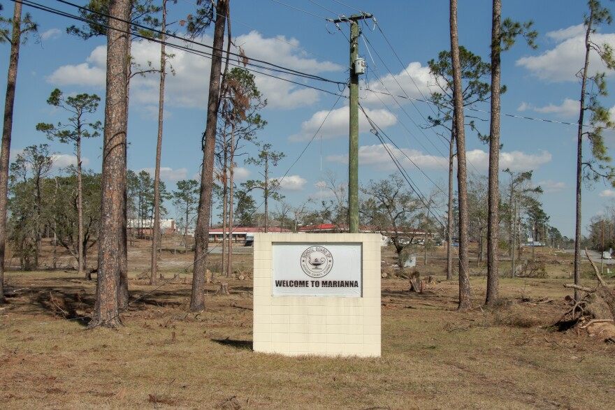 marianna sign hurricane michael