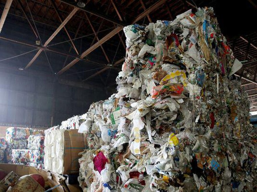Image of recyclable waste