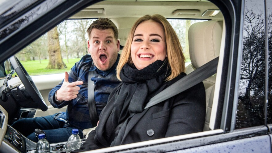 "The video of James Corden and Adele doing ""Carpool Karaoke"" has more than 80 million views on YouTube."