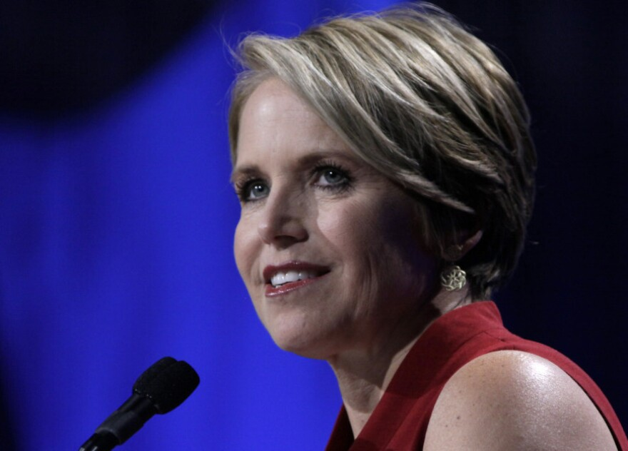 Katie Couric, seen here in 2009, is planning her exit from the CBS <em>Evening News</em>.