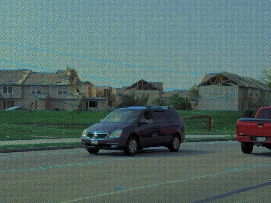 Apartments in Beavercreek affected by tornado damage