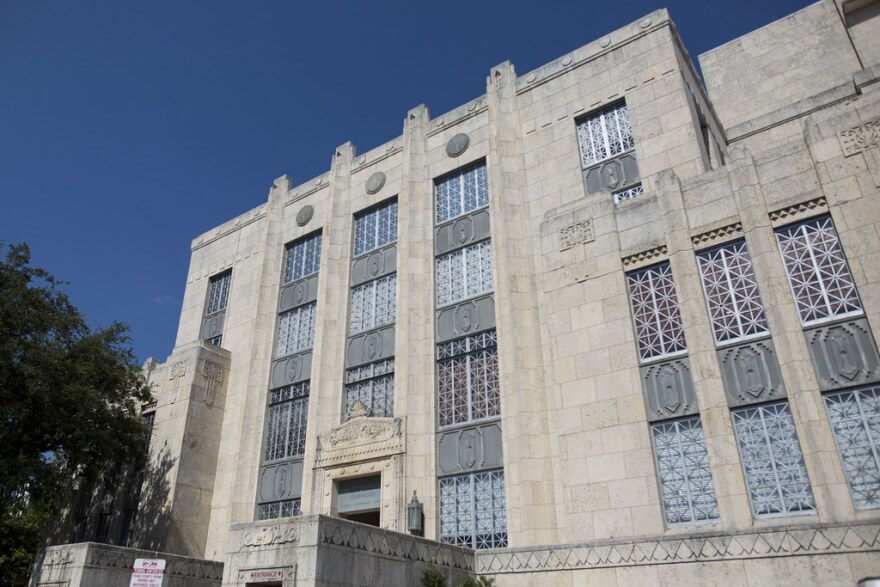 The Travis County Courthouse in downtown Austin